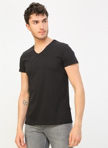 Lee Cooper Lee Cooper Siyah T-Shirt Siyah